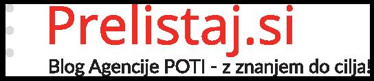 Prelistaj.si - Blog Agencije POTI